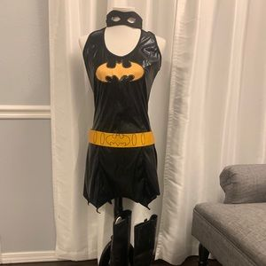 Teen or woman's Bat girl costume.